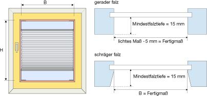 plissee konfigurator ma eingabe f r plissees. Black Bedroom Furniture Sets. Home Design Ideas