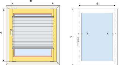 Berühmt Plissee Konfigurator - Maßeingabe für Plissees VR93