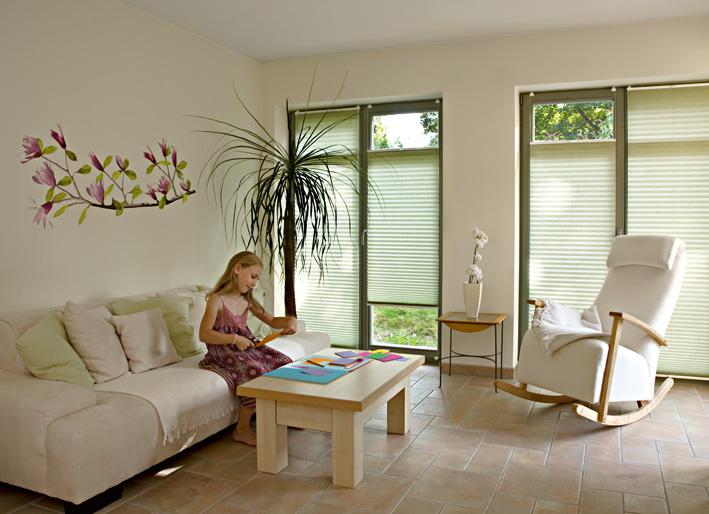 plissees g nstig nach ma plissee berater. Black Bedroom Furniture Sets. Home Design Ideas